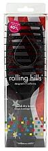 Düfte, Parfümerie und Kosmetik Bürste für schnelles Trocknen der Haare schwarz - Rolling Hills Hairbrushes Quick Dry Brush Black