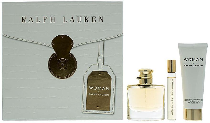 Ralph Lauren Woman By Ralph Lauren - Duftset (Eau de Parfum 50ml + Eau de Parfum 10ml + Körperlotion 75ml)