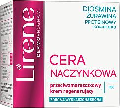 Düfte, Parfümerie und Kosmetik Regenerierende Nachtcreme - Lirene Redness Regenerating Night Cream Anti Wrinkle