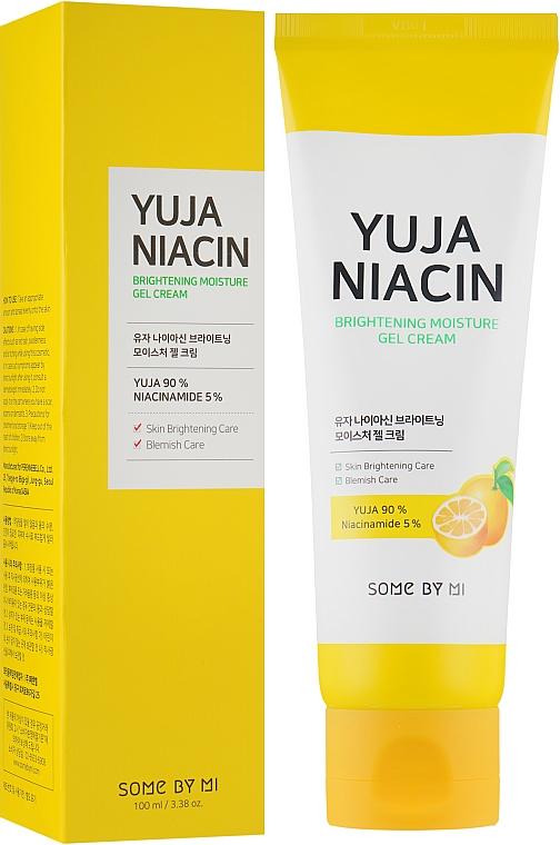 Feuchtigkeitsspendende und aufhellende Gesichtsgel-Creme - Some By Mi Brightening Moisture Gel Cream