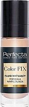 Düfte, Parfümerie und Kosmetik Feuchtigkeitsspendende mattierende Foundation - Perfecta Color Fix Make-Up Mattifing Fluid