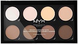 Düfte, Parfümerie und Kosmetik Highlight- und Konturpalette - NYX Professional Makeup Highlight & Contour Pro Palette