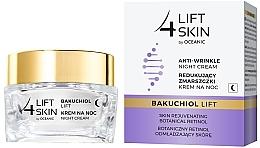 Düfte, Parfümerie und Kosmetik Verjüngende Anti-Falten Nachtcreme für das Gesicht - Lift4Skin Bakuchiol Lift Night Cream