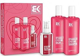 Düfte, Parfümerie und Kosmetik Set - Brazil Keratin Dtangler Cystine (sh/300ml + balm/300ml + spray/100ml)