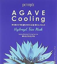 Düfte, Parfümerie und Kosmetik Kühlende Hydrogel-Maske für das Gesicht mit Agavenextrakt - Petitfee&Koelf Agave Cooling Hydrogel Face Mask