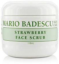 Düfte, Parfümerie und Kosmetik Gesichtspeeling mit Erdbeere - Mario Badescu Strawberry Face Scrub