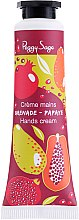 Düfte, Parfümerie und Kosmetik Handcreme mit Granatapfel und Papaya - Peggy Sage Grenade Papaye Hands Cream