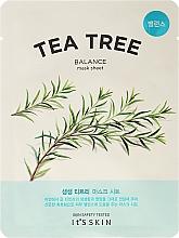 Düfte, Parfümerie und Kosmetik Pflegende Tuchmaske mit Teebaumextrakt - It's Skin The Fresh Mask Sheet Tea Tree