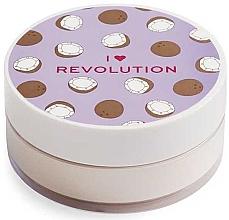 Düfte, Parfümerie und Kosmetik Loser Gesichtspuder Kokosnuss - I Heart Revolution Loose Baking Powder Coconut