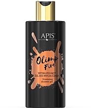 Düfte, Parfümerie und Kosmetik Revitalisierendes Duschgel mit Hyaluronsäure - APIS Professional Olimp Fire Shower Gel