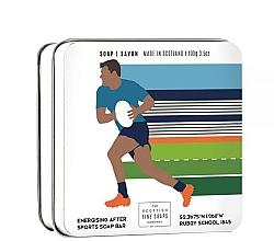 Düfte, Parfümerie und Kosmetik Energetisierende Seife nach dem Sport im Metallbox Rugby - Scottish Fine Soaps Rugby Sports Soap In A Tin