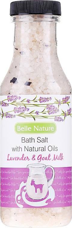 Badesalz Lavendel & Ziegenmilch - Belle Nature Bath Salt