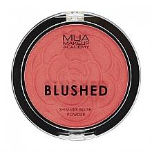 Düfte, Parfümerie und Kosmetik Schimmerndes Gesichtsrouge - MUA Blushed Shimmer Blush Powder