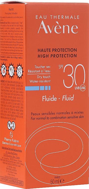 Sonnenschutzfluid für das Gesicht SPF 30 - Avene Sun Care Fluid SPF 30