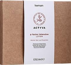 Düfte, Parfümerie und Kosmetik Haarlotion gegen Haarausfall - Kemon Actyva P Factor Lotion Donna Intensive