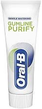 Düfte, Parfümerie und Kosmetik Aufhellende Zahnpasta mit kühlender Wirkung - Oral-B Professional Gumline Pro-Purify Gentle Whitening Toothpaste
