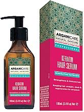 Düfte, Parfümerie und Kosmetik Pflegendes Haarserum mit Keratin - Arganicare Keratin Repairing Hair Serum