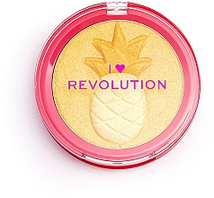 Düfte, Parfümerie und Kosmetik Highlighter - I Heart Revolution Fruity Highlighter Pineapple