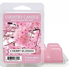Düfte, Parfümerie und Kosmetik Duftwachs Cherry Blossom - Country Candle Cherry Blossom Wax Melts