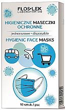 Düfte, Parfümerie und Kosmetik Einweg-Schutzmaske für das Gesicht - Floslek Hygienic Face Masks