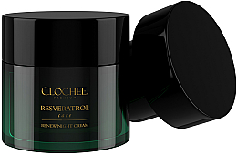 Düfte, Parfümerie und Kosmetik Hauterneuernde Anti-Aging Nachtcreme mit Resveratrol - Clochee Premium Renew Night Cream (Refill)