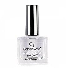 Düfte, Parfümerie und Kosmetik Nagellacktrockner - Golden Rose Quick Dry Top Coat