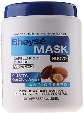 Haarmaske mit Arganöl für lockiges Haar - Renee Blanche Bheyse Maschera Capelli Ricci e Crespi