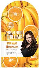 Düfte, Parfümerie und Kosmetik Maske für strapaziertes Haar mit Banane und Orange - Superfood For Skin Fresh Food For Hair