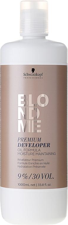 Creme-Oxidationsmittel 9% für blondes Haar - Schwarzkopf Professional Blondme Premium Developer 9%