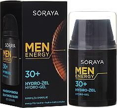 Düfte, Parfümerie und Kosmetik Feuchtigkeitsspendendes und mattierendes Gesichtsgel 30+ - Soraya Men Energy