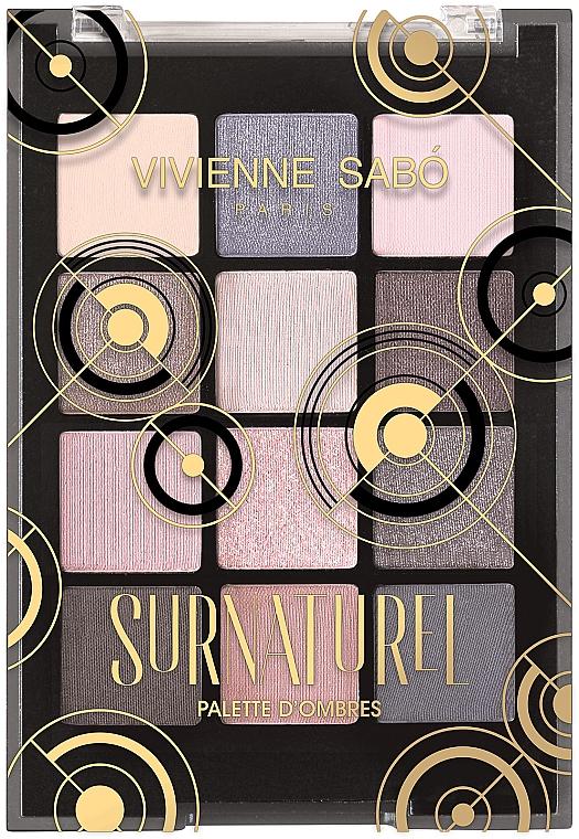 Lidschattenpalette - Vivienne Sabo Surnaturel Eyeshadow Palette