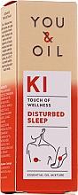 Düfte, Parfümerie und Kosmetik Bioaktive ätherische Ölmischung für einen erholsamen Schlaf - You & Oil KI-Disturbed Sleep Touch Of Welness Essential Oil