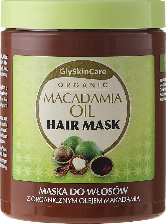 Haarmaske mit Bio Macadamiaöl - GlySkinCare Macadamia Oil Hair Mask