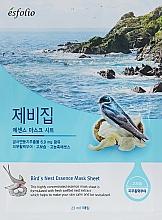 Düfte, Parfümerie und Kosmetik Revitalisierende und beruhigende Tuchmaske mit Salanganennest-Extrakt - Esfolio Bird's Nest Essence Mask Sheet