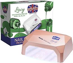 Düfte, Parfümerie und Kosmetik CCFL/LED Lampe für Nageldesign kaffeebraun - Ronney Profesional Lucy CCFL + LED 36W (GY-LCL-021) Lamp