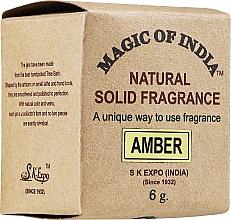 Düfte, Parfümerie und Kosmetik Natürliches Cremeparfum Amber - Shamasa