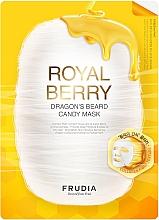 Düfte, Parfümerie und Kosmetik Feuchtigkeitsspendende Tuchmaske mit Gold-Honig-Serum - Frudia Royal Berry Dragon's Beard Candy Mask