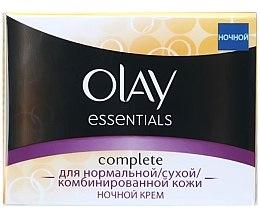 Düfte, Parfümerie und Kosmetik Nachtcreme mit Vitaminen und Antioxidantien - Olay Complete Night Cream