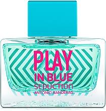 Düfte, Parfümerie und Kosmetik Antonio Banderas Play In Blue Seduction - Eau de Toilette