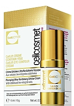 Düfte, Parfümerie und Kosmetik Straffende Zellularcreme für die Augenpartie mit Hyaluronsäure - Cellcosmet CellEctive CellLift Eye Contour