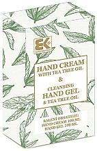 Düfte, Parfümerie und Kosmetik Handpflegeset - Brazil Keratin Tea Tree Oil (Handcreme 100ml + Handgel 100ml)