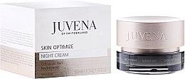 Düfte, Parfümerie und Kosmetik Nachtcreme für empfindliche Haut - Juvena Skin Optimize Night Cream Sensitive Skin