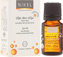 Düfte, Parfümerie und Kosmetik Anti-Falten Öl für die Augenpartie - Nikel Eye Oil