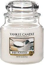 Düfte, Parfümerie und Kosmetik Duftkerze im Glas Baby Powder - Yankee Candle Baby Powder