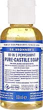 Düfte, Parfümerie und Kosmetik 18in1 Flüssigseife mit Pfefferminze für Körper und Hände - Dr. Bronner's 18-in-1 Pure Castile Soap Peppermint