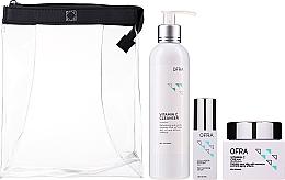 Düfte, Parfümerie und Kosmetik Gesichtspflegeset - Ofra Normal Skin Solution Trio (Gesichtsserum 30ml + Gesichtscreme 60ml + Reinigungslotion 240ml)