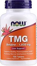 Düfte, Parfümerie und Kosmetik Suplement diety z betainą - Now Foods TMG Betaine 1000 Mg
