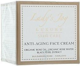 Düfte, Parfümerie und Kosmetik Anti-Aging Gesichtscreme - Bulgarian Rose Lady's Joy Luxury Anti-Aging Face Cream