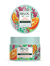 Düfte, Parfümerie und Kosmetik Anti-Cellulite Körperpeeling mit Orange und Braunalgen - Bisou I feel... Nature Anti-Cellulite Body Scrub Orange & Brown Algae