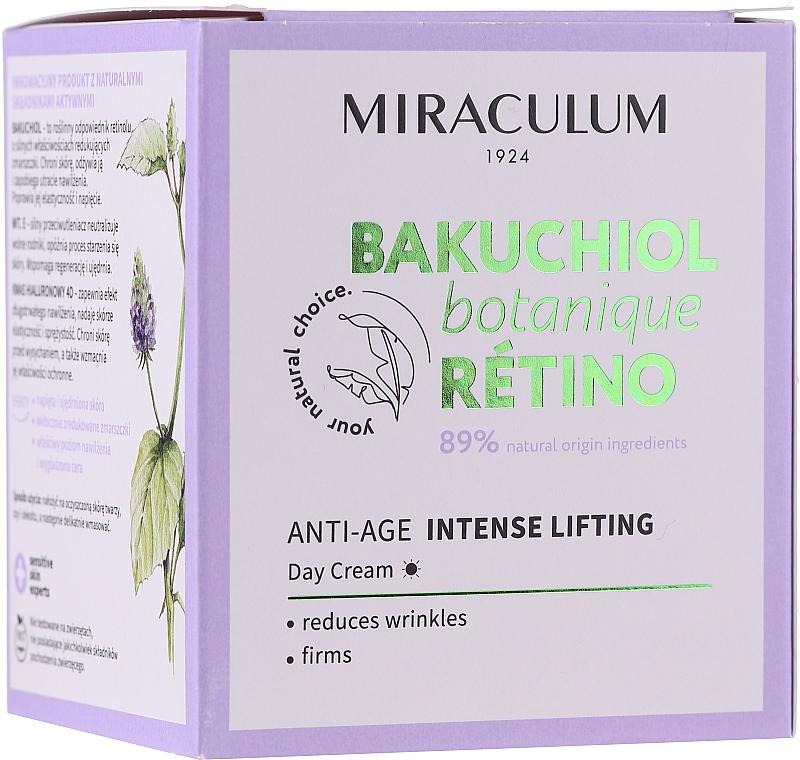 Straffende Anti-Falten Tagescreme mit Lifting-Effekt - Miraculum Bakuchiol Botanique Retino Anti-Age Intensive Lifting